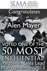 #2 on the list of Top 50 Most influential People - Alen Mayer