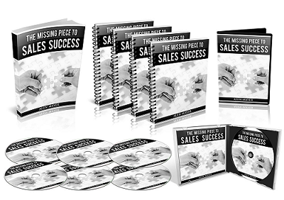 The Missing Piece to Your Sales Success Has Been Found!